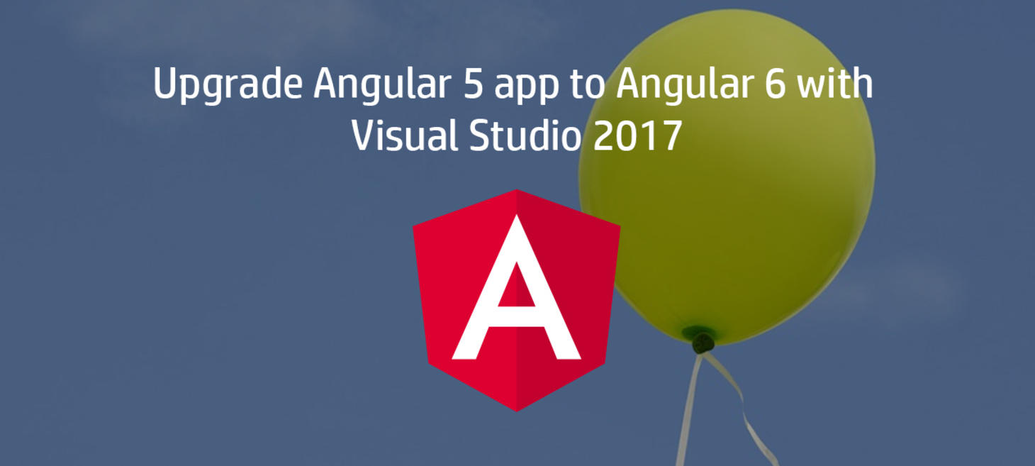upgrade angular 5 to 6