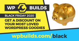 WP Builds Black Friday Deals Page
